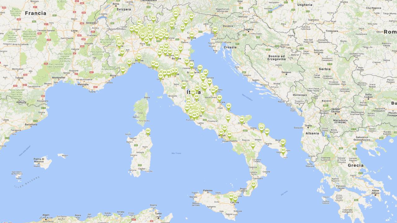 Alcuni nostri clienti in Italia